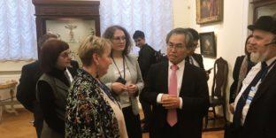 Делегаты из Кореи посетили Радищевский музей
