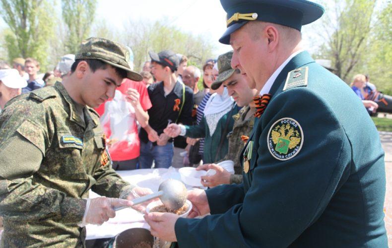 Солдатская каша от Саратовской таможни. Сообщает пресс-служба Саратовской таможни