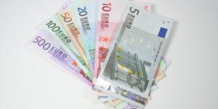 Признаки подлинности иностранных банкнот - Евро