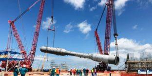 Оборудование для газоперерабатывающего завода оформили таможенники Дальнего Востока