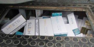 Тайник с табачными стиками обнаружили уссурийские таможенники в салоне китайского автобуса