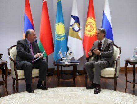 ЕАЭС и МЕРКОСУР развивают сотрудничество