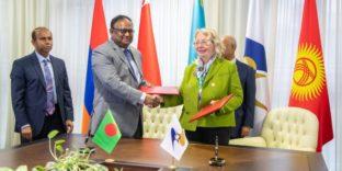 ЕЭК и Бангладеш подписали Меморандум о сотрудничестве