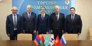 Препятствия в торговле на трансграничных рынках ЕАЭС обсудили участники Общественной приёмной в Смоленске