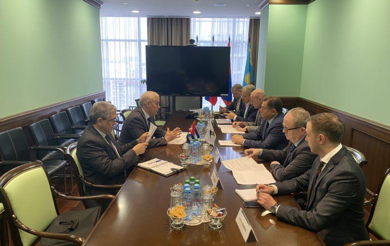 ЕАЭС и Куба наметили планы сотрудничества на 2020 год