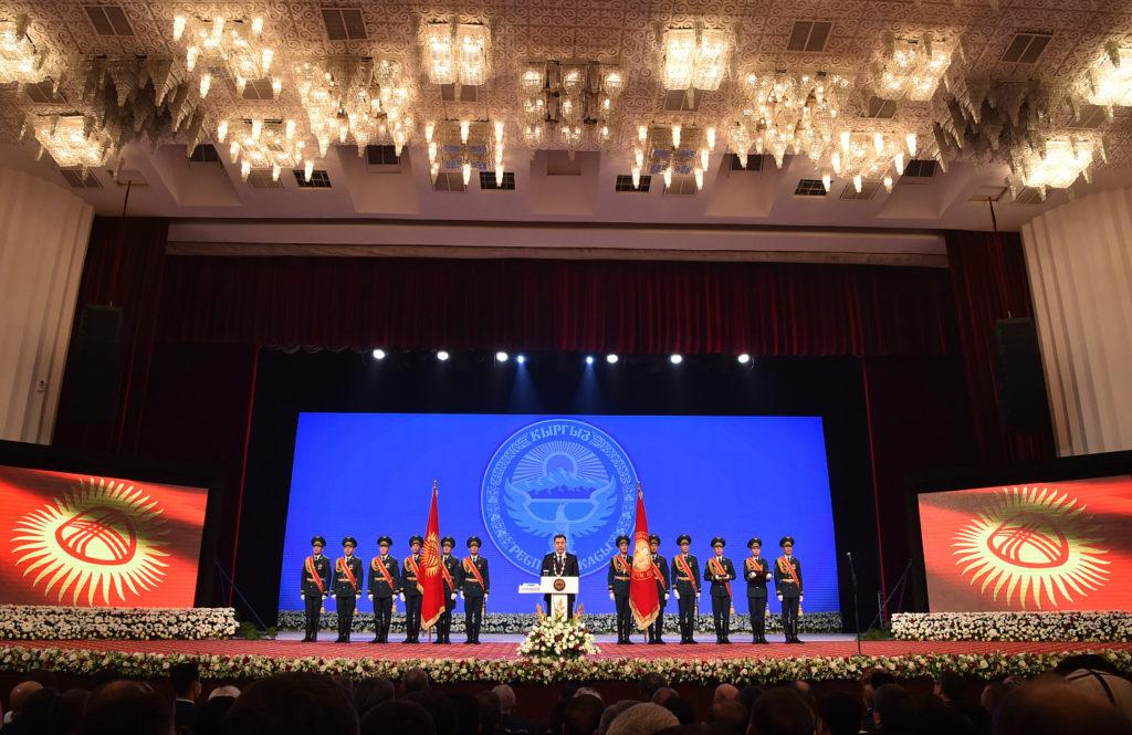 Михаил Мясникович принял участие в инаугурации Президента Кыргызской Республики Садыра Жапарова