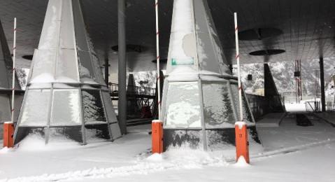 МАПП Верхний Ларс закрыт для большегрузных автотранспортных средств