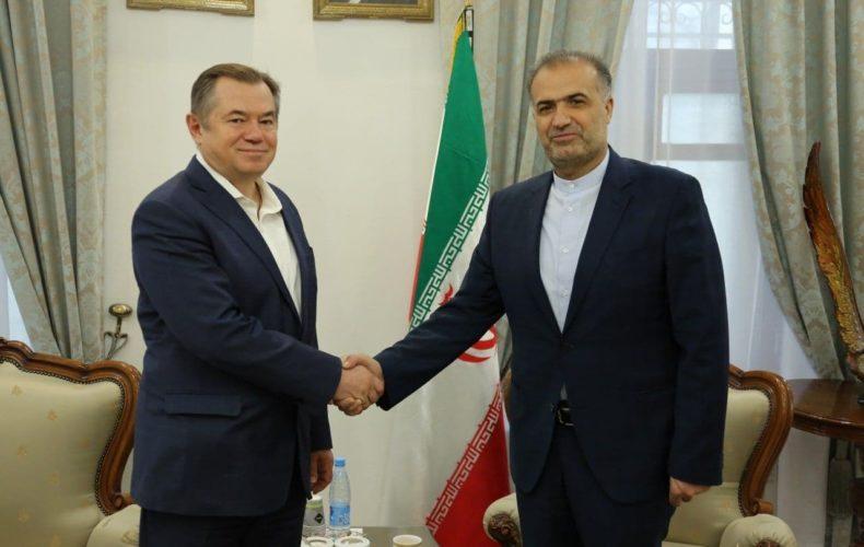 Перспективы взаимодействия обсудили министр ЕЭК Сергей Глазьев и посол Ирана в РФ Казем Джалали