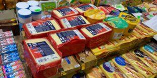Мурманская таможня: сыр и масло изъяты из оборота