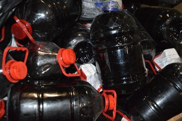Более 2,5 тонн алкоголя изъято на таможенном посту МАПП Верхний Ларс