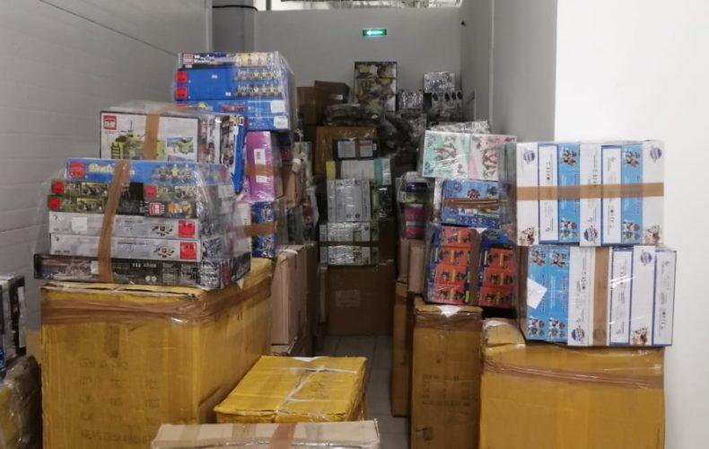 Северо-Западное таможенное управление: с начала года выявлено более 600 тысяч единиц контрафактной продукции