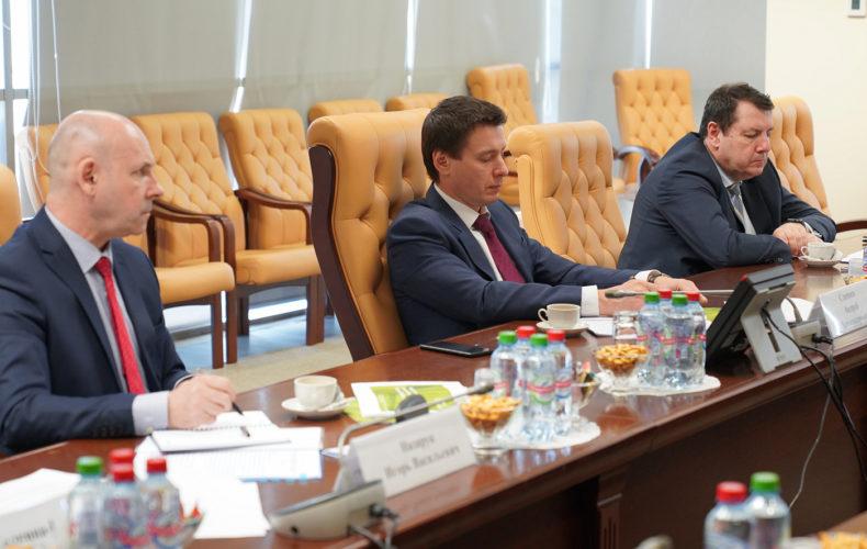 Андрей Слепнев обсудил с представителями европейского бизнеса вопросы сотрудничества ЕАЭС и ЕС