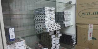 В торговой точке Оренбурга таможенниками выявлено более 5000 пачек сигарет с нарушением маркировки