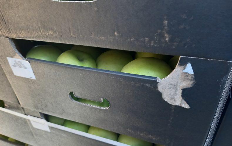 На границе с Казахстаном выявлено 20 тонн санкционных польских яблок