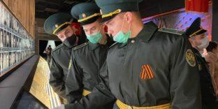Делегация Академии посетила Музейный комплекс «Дорога памяти» у Главного Храма Вооруженных сил РФ