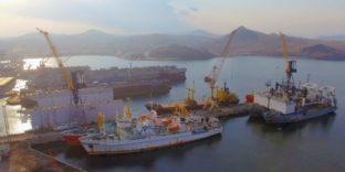 Более тысячи тонн грузов оформила Владивостокская таможня в морском пункте пропуска Славянка в 1 полугодии 2021 года