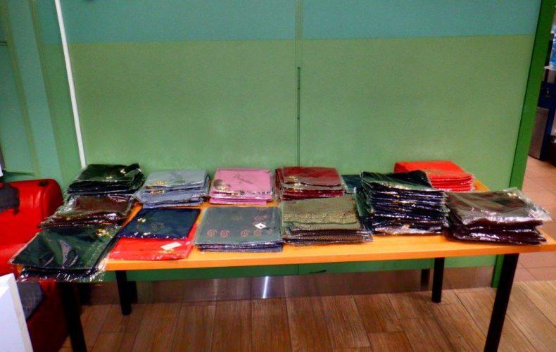 Краснодарские таможенники обнаружили незадекларированную коммерческую партию футболок
