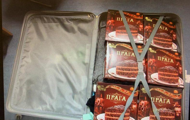 Пулковская таможня: торты «Прага» с драгоценной начинкой