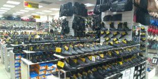 Калужские таможенники продолжают изымать немаркированную обувь