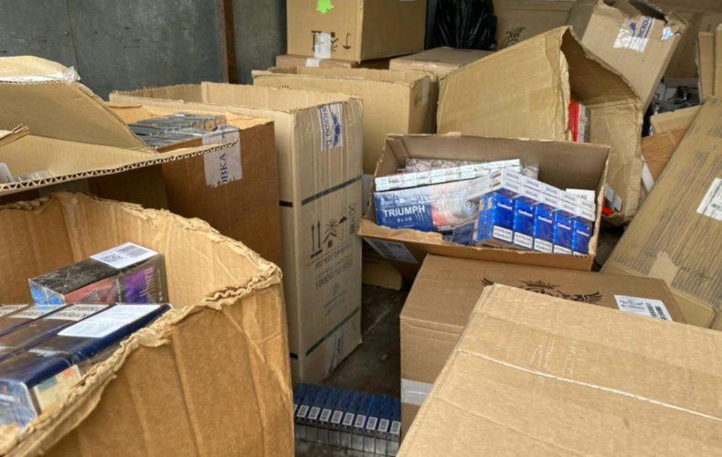 Более 100 тысяч пачек немаркированных сигарет изъято дагестанскими таможенниками