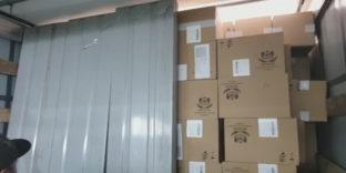 Смоленские таможенники пресекли незаконный ввоз в Россию 666 тысяч пачек белорусских сигарет