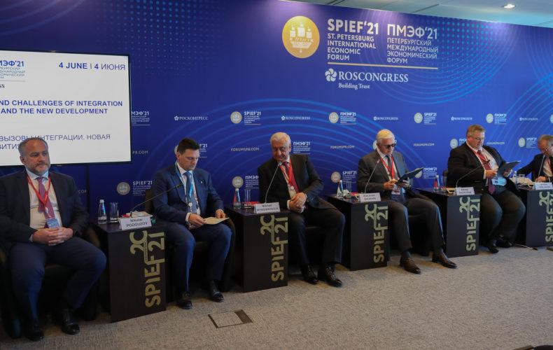Михаил Мясникович на ПМЭФ предложил разработать евразийскую программу импортозамещения, а также создать ряд агентств в ЕАЭС
