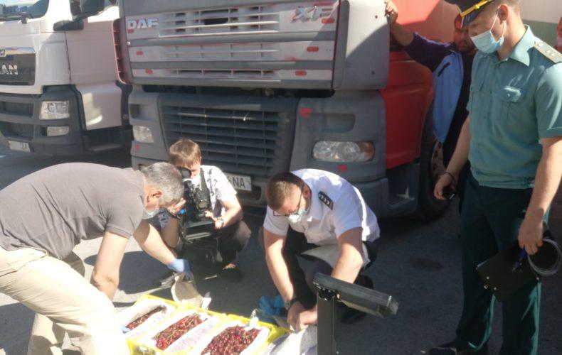 Овощи и фрукты едут в Сибирь: таможенники перешли на ежедневный график работы