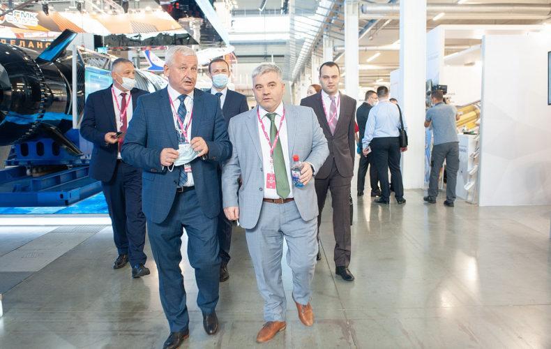 Артак Камалян принял участие в международной промышленной выставке «Иннопром» в Екатеринбурге