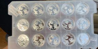 Московская областная таможня пресекла схему незаконной продажи серебряных инвестиционных монет