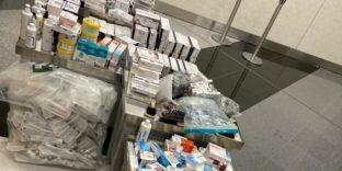 Сотрудники таможни задержали крупную партию медицинских инструментов и препаратов
