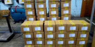 Пулковская таможня задержала 800 смартфонов
