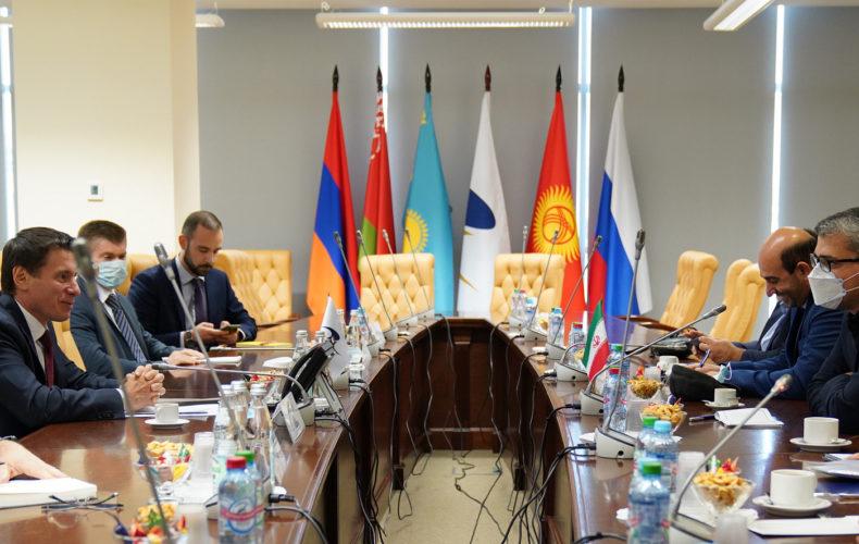 Андрей Слепнев: «Соглашение о свободной торговле с Ираном повысит эффективность планирования торгово-экономических связей»