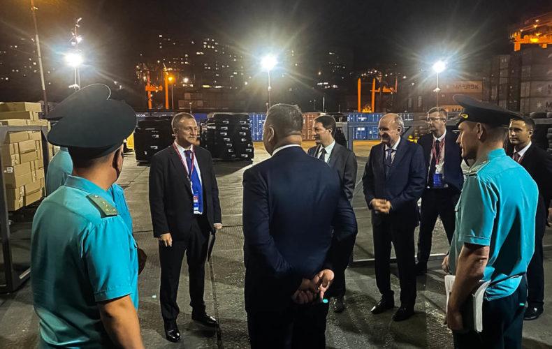 Руслан Давыдов: взаимодействие информационных систем порта и таможни позволит ускорить процесс оформления грузов
