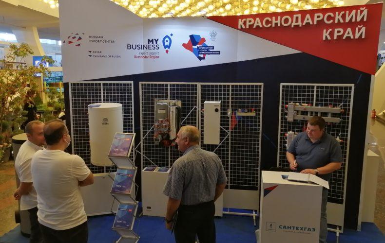 Семь компаний из Краснодарского края приняли участие в международной выставке в Армении