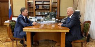 Михаил Мясникович и Александр Новак обсудили вопросы евразийской интеграции в нефтегазовой сфере