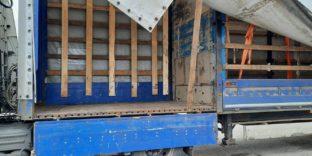Псковские таможенники выявили автомобиль с «двойным» грузовым отсеком