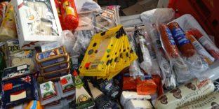 Калининградские таможенники изъяли 156 кг «санкционной» продукция из стран Евросоюза